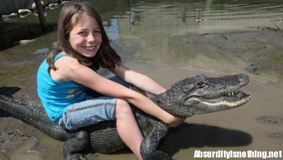 Samantha Young - Wrestling Alligator