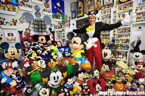 La più grande fan collezionista di Topolino