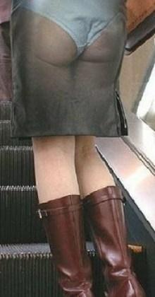 Vestito trasparente illusione