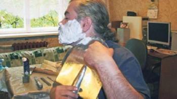 Farsi la barba con la vanga