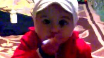 Fumatrice a due anni