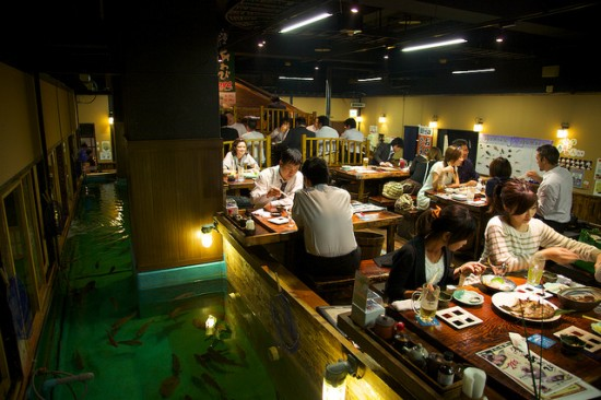 Zauo ristorante a Tokyo