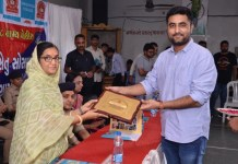 female-fearlessness-seminar-organized-at-sahajanand-college-in-gondal-with-the-help-of-security-bridge