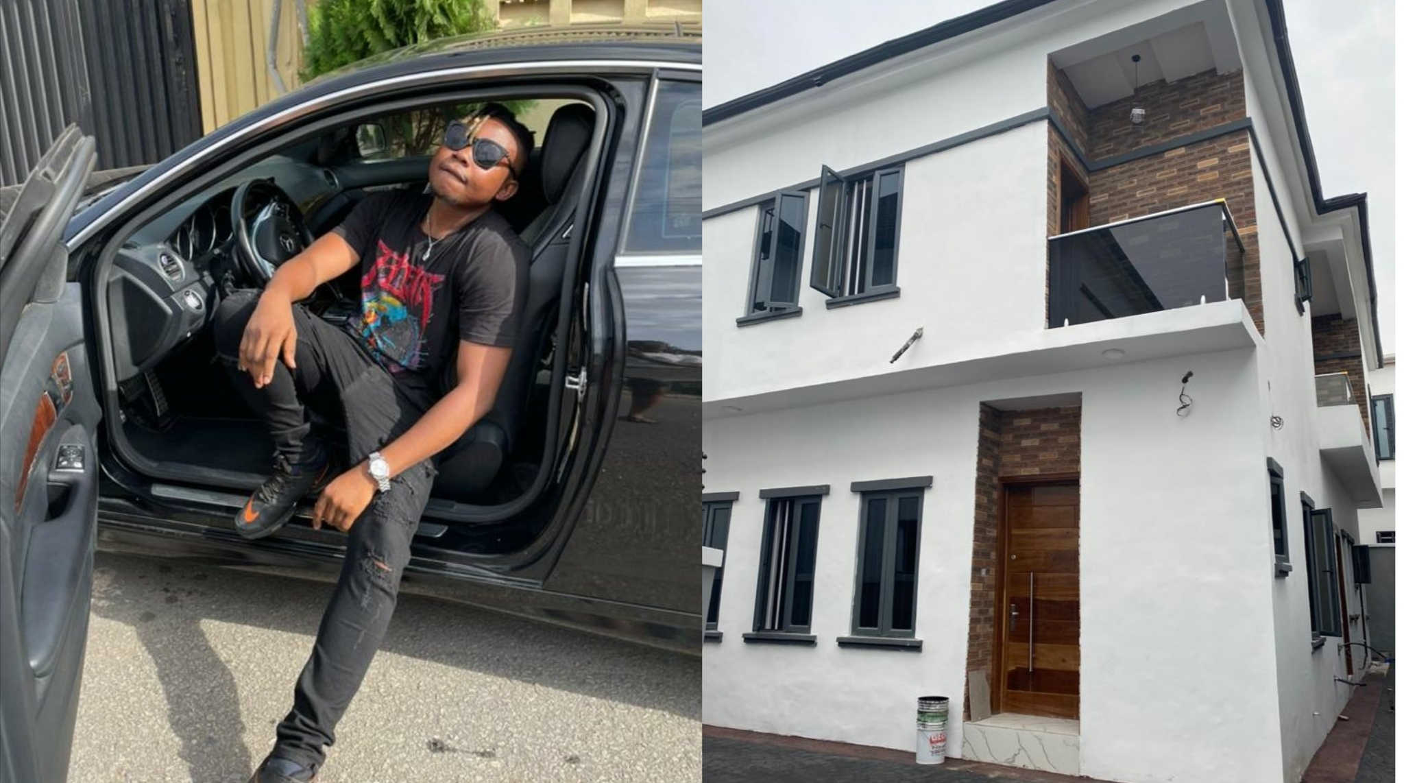 """""""In My Maserati"""" Hit Maker, Olakira, Acquires A Home And A Ride"""