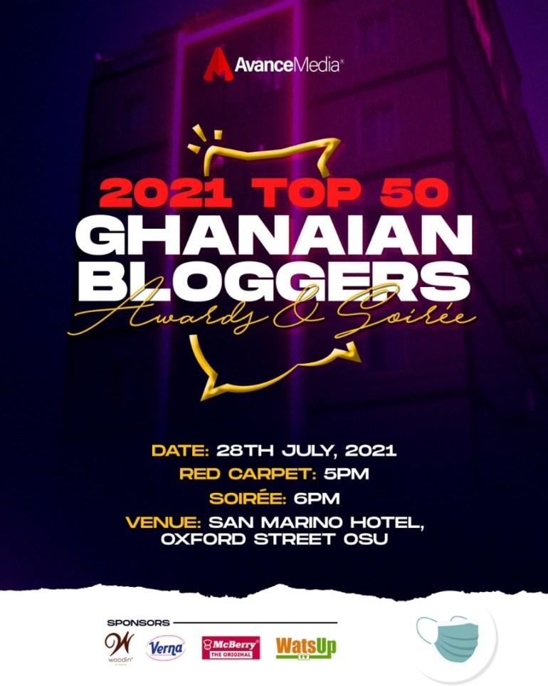 Top 50 Ghanaian Bloggers