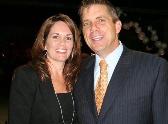 Beth Shuey and Sean Payton