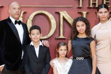 Vin Diesel and family