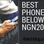 10 Best Phones Below N20,000 Naira In 2018