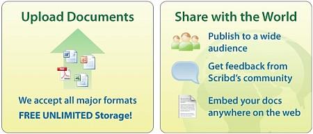 Pubblica, Distribuisci e Condividi i tuoi Documenti sul Web