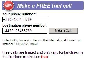 Telefona gratis in 36 paesi