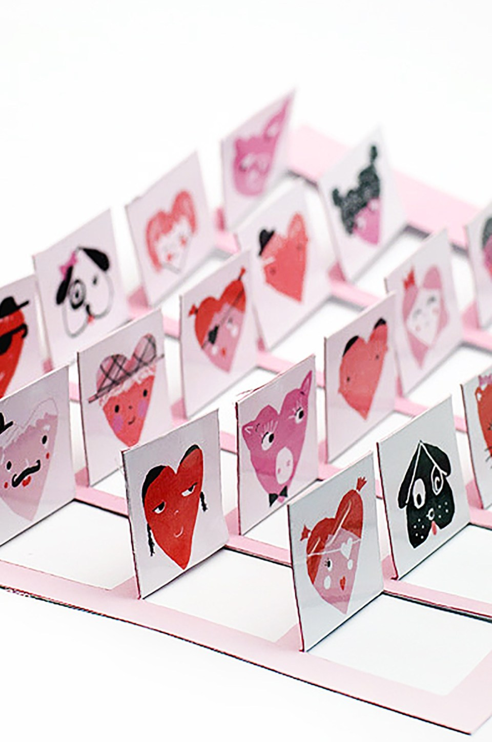 Valentines guess who game