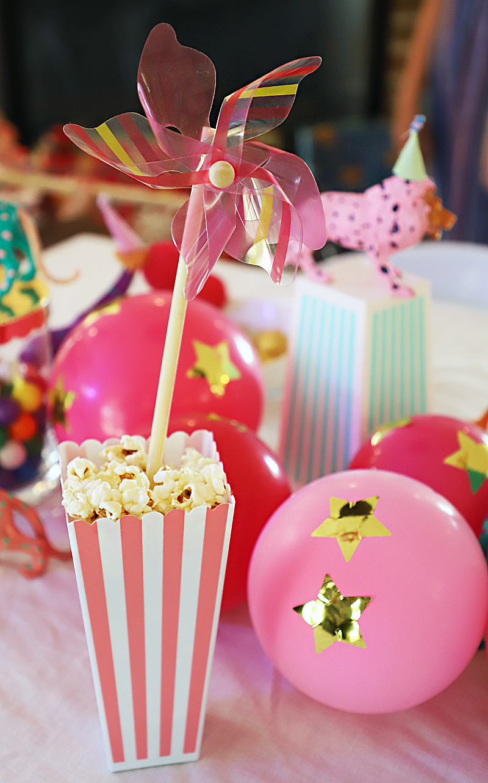 popcorn favor circus party