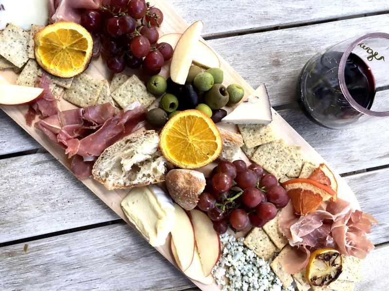 small chacuterie board