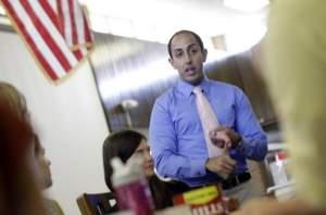 Abud Works With Teachers