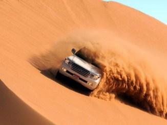 مجلة أبو ظبي سفاري صحراوي