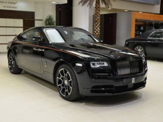 Abu Dhabi Motors Rolls Royce Black Badge