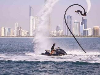 Abu Dhabi Corniche Fly Board