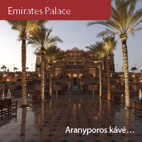 Látogatás az Emirates Palace-ba