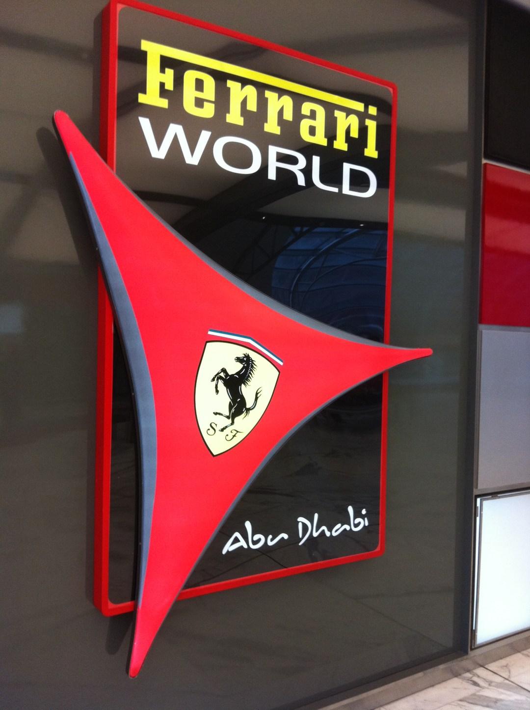 Ferrari World Park Abu Dhabi