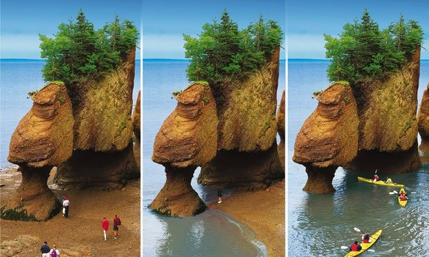 Destination: The Bay of Fundy, New Brunswick and Halifax, Nova Scotia