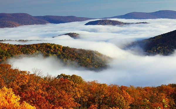 Destination: Shenandoah National Park, The Natural Bridge, and Colonial Williamsburg, VA