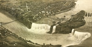 Niagara Falls in an 1882 Lithograph