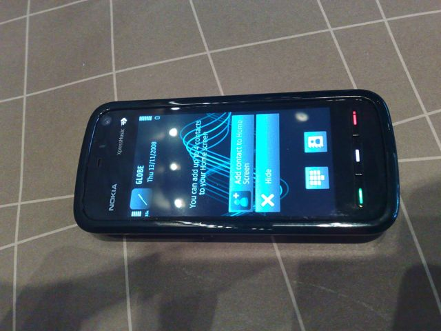 Nokia 5800 Xpressmusic Review In The Philippines A Bugged Life