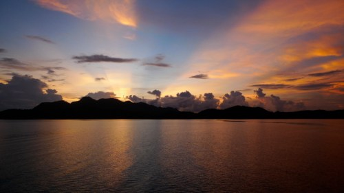 Coron Bay Sunset