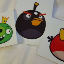 Day 1: Angry Birds Stuffed Toys and Schwag