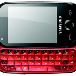 Let's give away a Samsung Corby II