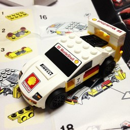 Finally got the LEGO Ferrari F40 with the Shell Promo. Here's how it works!