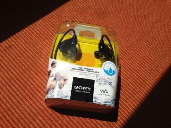 sony waterproof mp3 player