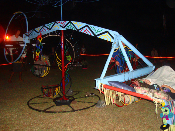 it was like a giant teeter totter that also rotated