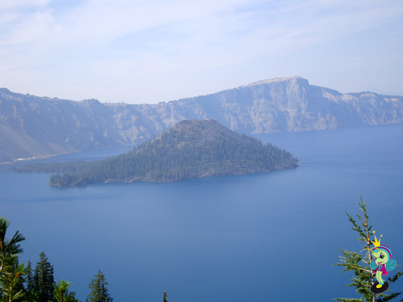 Crater Lake is in a cauldera