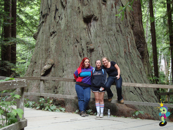 Us cousins at the Brotherhood Tree