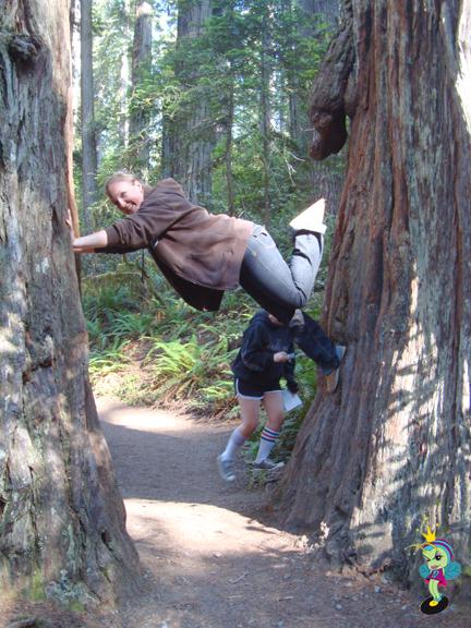 Kristi the acrobatic