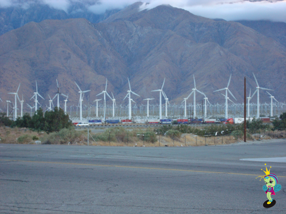 Once we saw the windmills near Palm Springs we knew our trip as almost over
