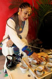Traditional coffee ceremony