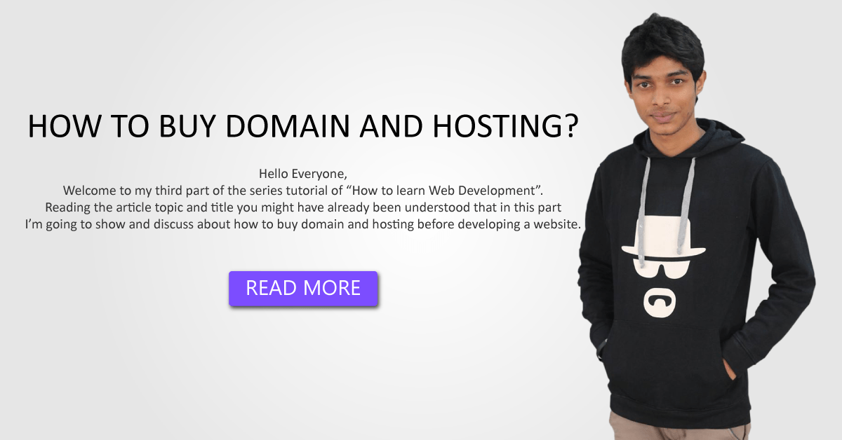 HOW TO BUY DOMAIN AND HOSTING?