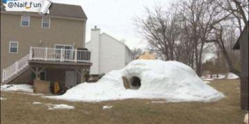 بيت من الثلج