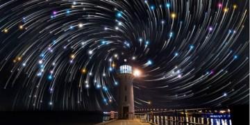 مسارات النجوم اللولبية