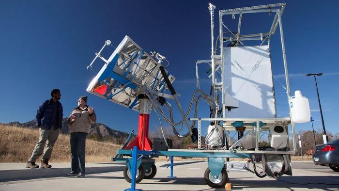 ابتكارات تقنية مرحاض ينتج الطاقة
