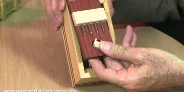 صناديق خشبية تفتح بطرق معقدة. 1