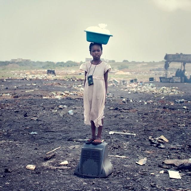أغبوغبلوشي المكان الأكثر تلوثاً في العالم