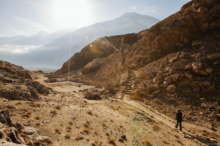 طبيعة و جبال وسماء