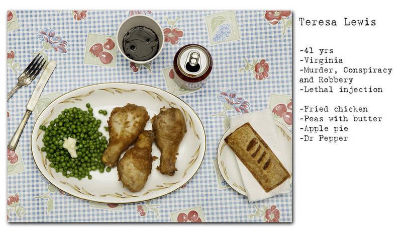 طعام مجرمين قبل الإعدام