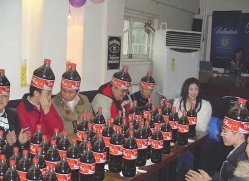حفلات كوكا كولا