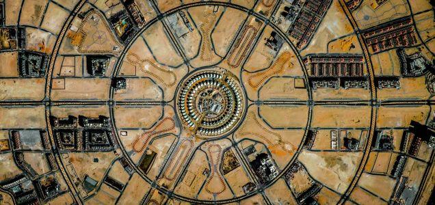 مشاهد هندسية مذهلة التقطت لسطح الأرض من جوجل ايرث