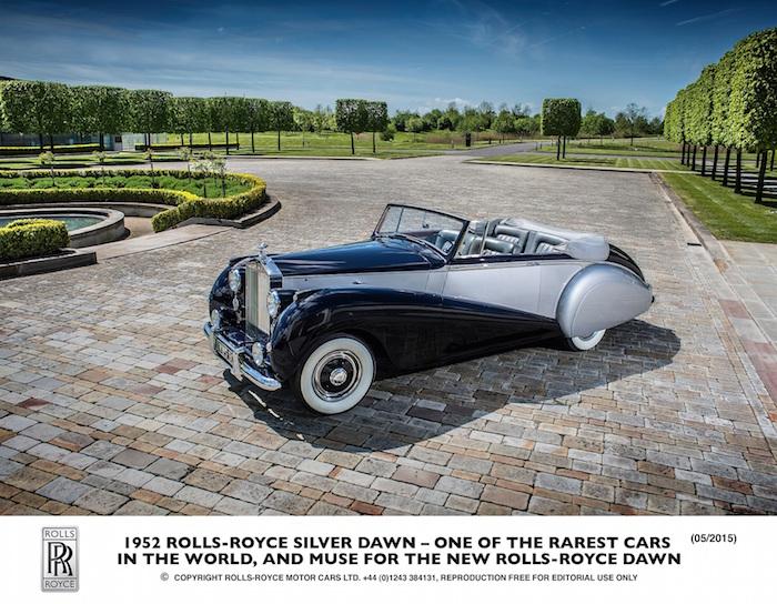 رولز رويس داون  Rolls-Royce Dawn 3
