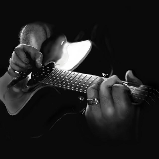 رسم جيتار